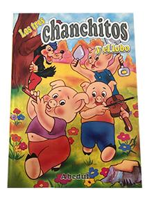 cuentos educativos inicial educación ediciones abedul los 3 chanchitos