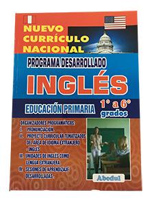 Guia desarollada de ingles desarollado ediciones abedul primaria