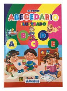 abecedario ilustrado ediciones abedul económico folleto full color
