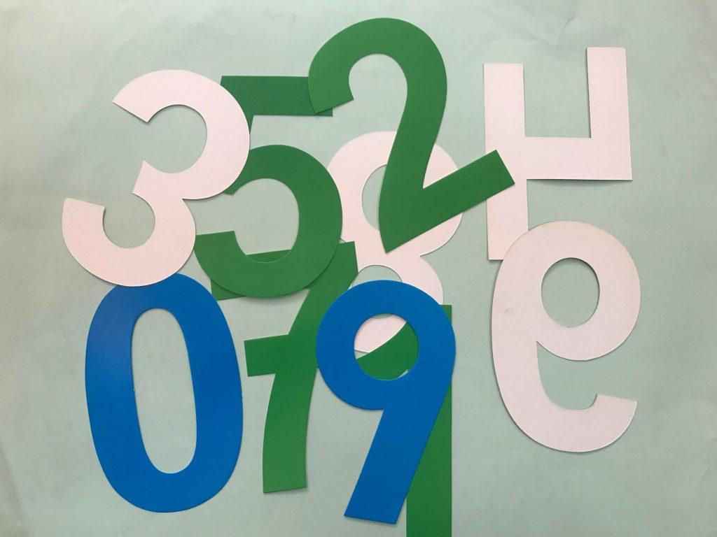 Molde de letras plantillas números mediana ediciones abedul grande