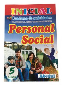 cuaderno de trabajo personal social de 5 años 3 4 inicial educación ediciones abedul