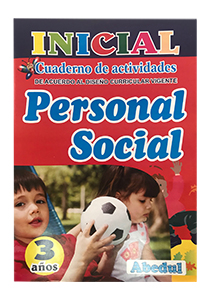 cuaderno de trabajo Personal Social 1 2 3 4 5 6 años de educación inicial primaria educación ediciones abedul