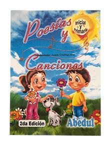 Poesías y canciones ediciones abedul cancionero poemario
