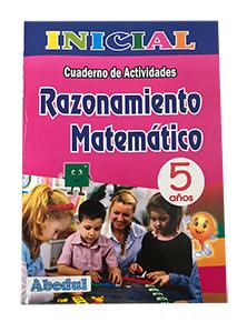 cuaderno de trabajo razonamiento matemático de 5 años 3 4 inicial educación ediciones abedul