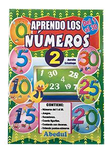 aprendo los números económicos folleto matemática ediciones abedul