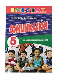 cuaderno de trabajo comunicación de 5 años 3 4 inicial educación ediciones abedul