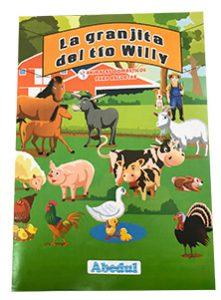 animales domésticos domesticos granja pintar colorear dibujar ediciones abedul