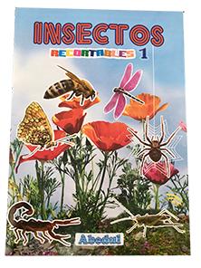 animales domésticos domesticos granja pintar colorear dibujar ediciones abedul recortables insectos