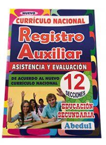 registro primaria inicial ediciones abedul 1 y 2 grado 3 4 5 6 secundaria
