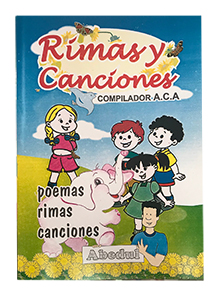 Rimas y canciones primaria cancionero ediciones abedul peru