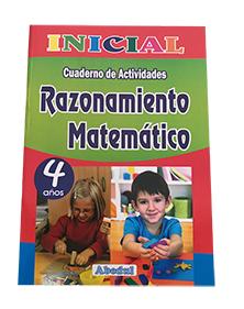 cuaderno de trabajo razonamiento matemático matematico de 4 años 3 4 5 inicial educación ediciones abedul